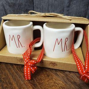 Rae Dunn MR. MR. mug ornaments LGBTQ wedding gift